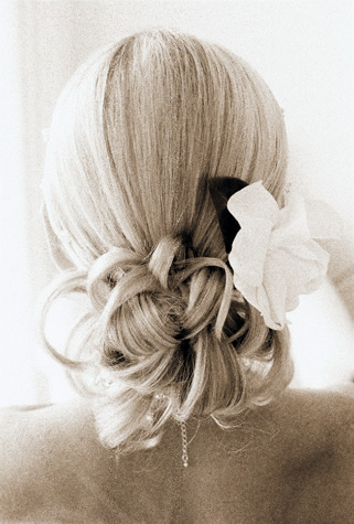 you don't want to have such a day with your wedding hair style.